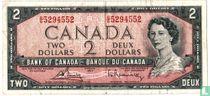 Canada 2 Dollar  1967 (gewoon type)