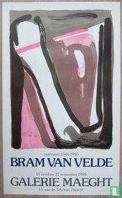 Bram van Velde - Compositie, 1980