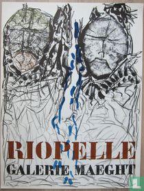 Jean-Paul Riopelle - Visages, 1974