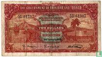 Trinidad en Tobago 2 dollar 1939