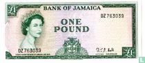 Jamaica 1 Pound ND (1964/L1960)