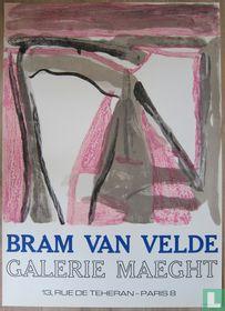 Bram van Velde - Compositie, 1975