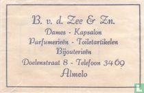 B. v.d. Zee & Zn. Dames Kapsalon