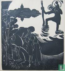 Jan-Frans Cantré - de heilge Christoffel, 1929
