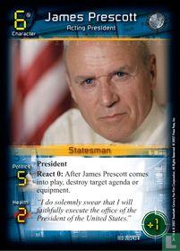 James Prescott - Acting President
