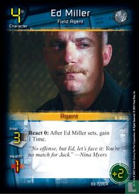 Ed Miller - Field Agent