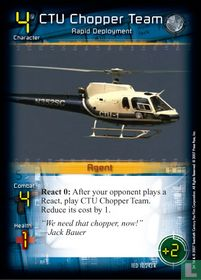 CTU Chopper Team
