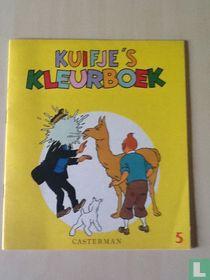 Kuifje's kleurboek 5