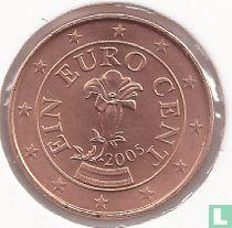 Austria 1 cent 2005