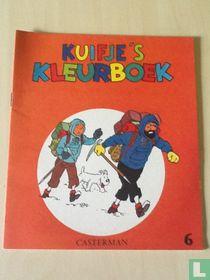 Kuifje's kleurboek  6