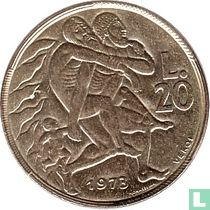 San Marino 20 lire 1973