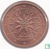 Austria 2 cent 2005