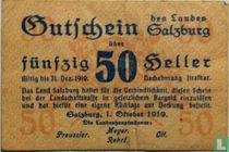 Salzburg 50 Heller 1919