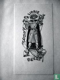 Exlibris Keltische zanger