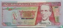 Guatemala 10 quetzales 1990