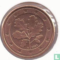 Duitsland 1 cent 2002 (A)
