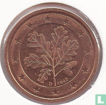 Germany 2 cent 2002 (D)