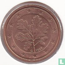 Germany 2 cent 2002 (G)