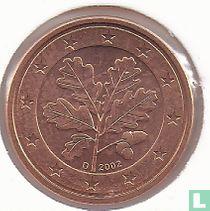 Duitsland 1 cent 2002 (D)