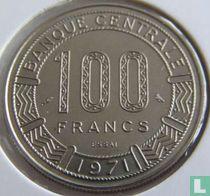 Gabon 100 francs 1971 (proefslag)