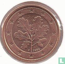 Duitsland 1 cent 2002 (F)