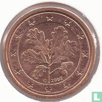 Duitsland 1 cent 2002 (G)