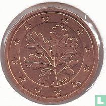 Duitsland 1 cent 2002 (J)
