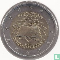 "Austria 2 euro 2007 ""50 years Treaty of Rome"""