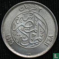 Egypte 2 piastres 1929
