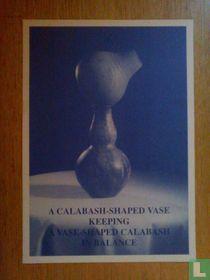 Yves de Smet - A Calabash shaped Vase, print