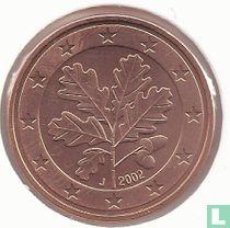 Duitsland 5 cent 2002 (J)