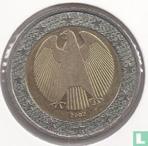 Germany 2 euro 2002 (F)