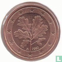 Duitsland 5 cent 2002 (A)