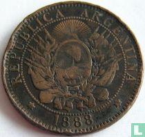 Argentina 2 centavos 1888