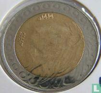 Algerije 20 dinars 1993 (jaar 1414)