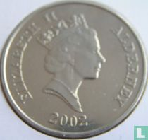 "Alderney 5 pounds 2002 ""50th anniversary Accession of Queen Elizabeth II"""