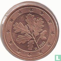 Duitsland 5 cent 2002 (D)