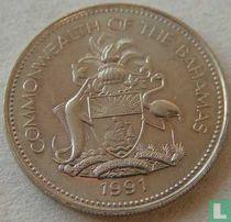 Bahama's 25 cents 1991