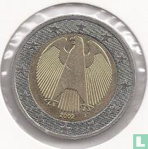 Germany 2 euro 2002 (J)