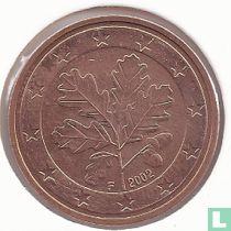 Duitsland 5 cent 2002 (F)