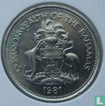 Bahama's 25 cents 1981