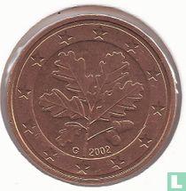 Duitsland 5 cent 2002 (G)