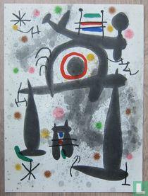 Joan Miro, Compositie, 1971
