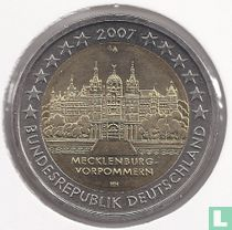 """Duitsland 2 euro 2007 (A) """"Mecklenburg - Vorpommern"""""""