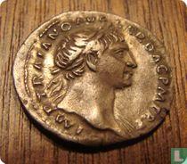 Romeinse rijk, AR Denarius, 98-117 AD, Trajanus, Rome, 107 AD