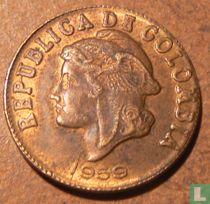Colombia 2 centavos 1959