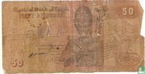 egypte 50 piaster 1992