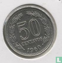 Argentinië 50 centavos 1960