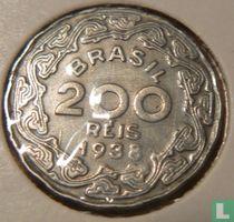 Brasilien 200 Réis 1938