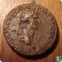 Romeinse Rijk, AE As, 96-98 AD, Nerva, Rome, 97 AD